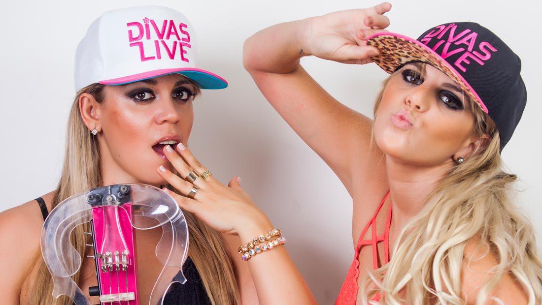 Foto do duo de Djs Divas Live