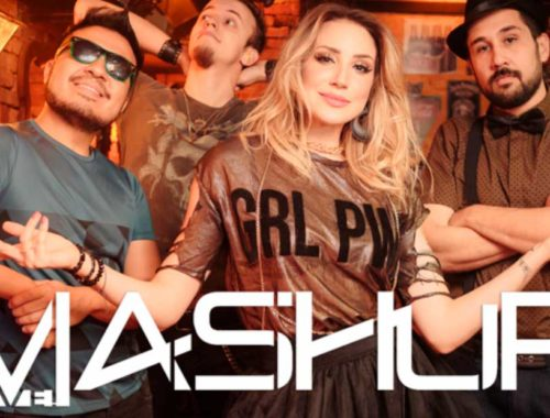 Foto da banda Mash Up Live