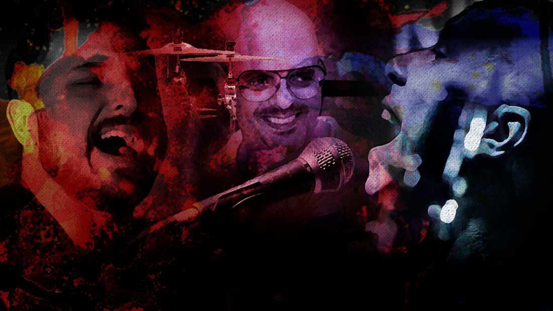 Foto da banda de pop rock paulistana Cover up