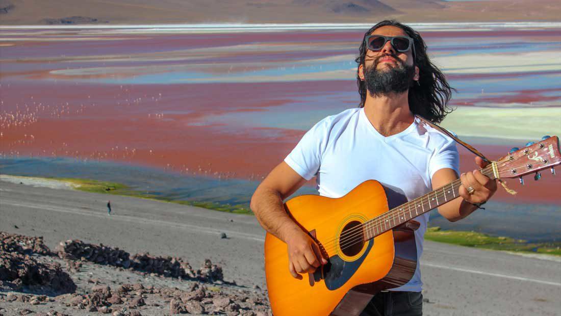 Foto do cantor Dudy Cardoso