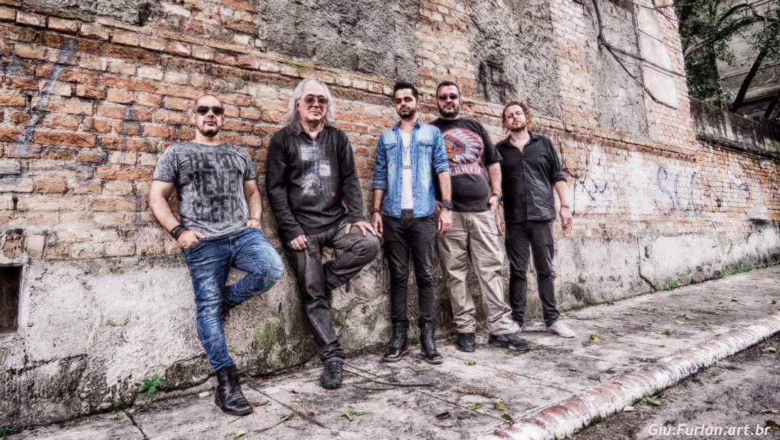 Foto da banda de rock Garagem Band