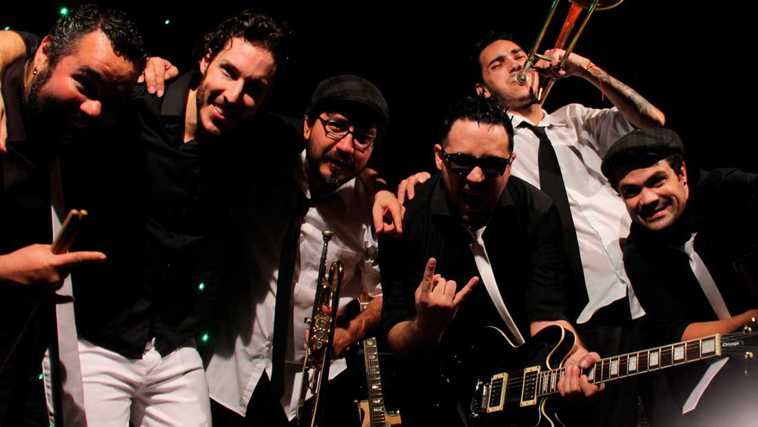Foto da banda de pop rock Mama Jam